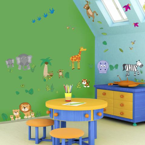Adhesivos decorativos infantiles | Dormitorios Infantiles