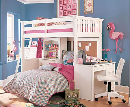 camas loft infantiles