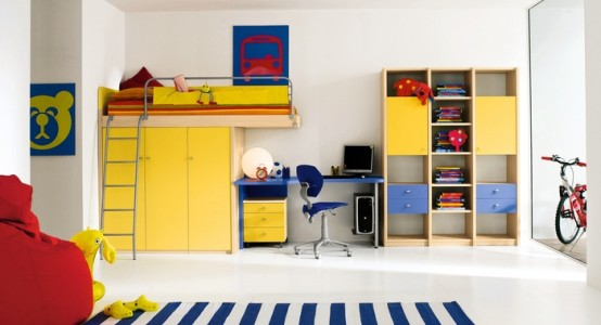Dormitorios infantiles modernos dormitorios infantiles for Dormitorios super modernos