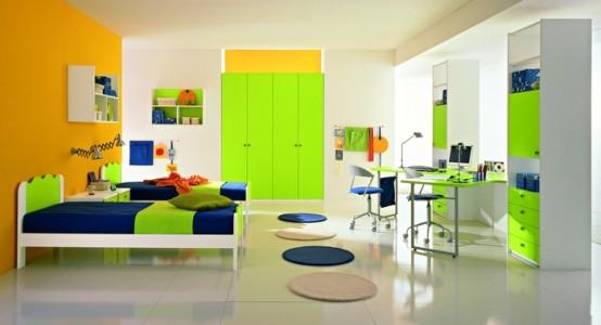 Dormitorio juvenil moderno de varon