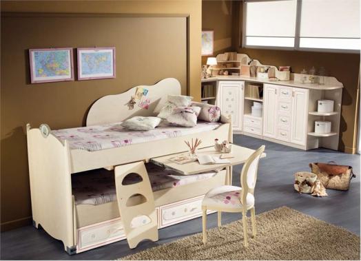 dormitorio niña clasico