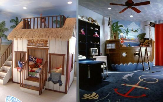 dormitorios infantiles niños