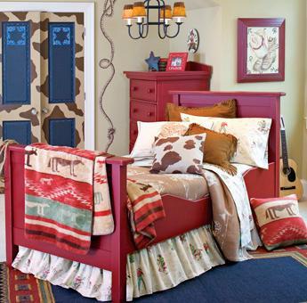 Dormitorio vaquero