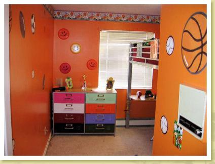 dormitorios infantiles tematicos basquet
