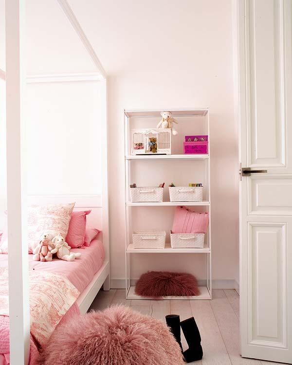 dormitorio infantil de niña elegante