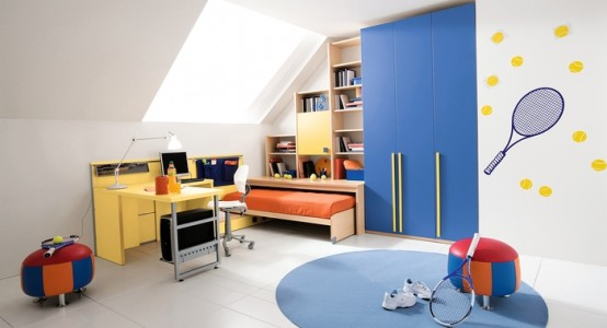 dormitorio niño tenistas