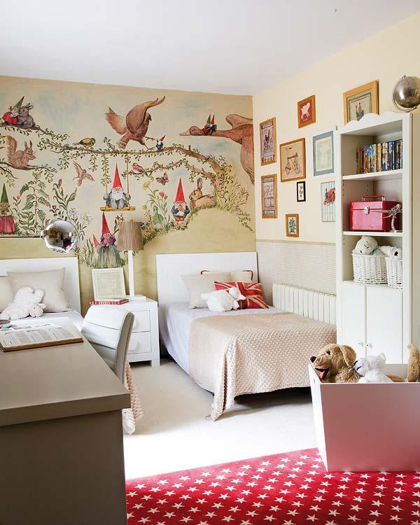 dormitorios infantiles de hadas y duendes