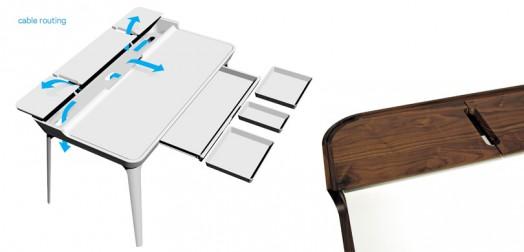 escritorio moderno juvenil