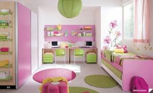 dormitorio infantil de hermanas