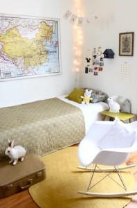 dormitorio infantil vintage